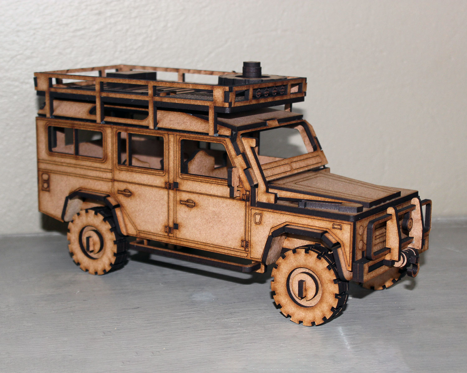 Defender Car 3d Puzzle Amp Accessories The Laser Company